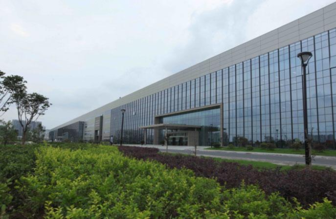 环氧防静电自流平地坪41000平米-合肥京东方B9环氧防静电自流平项目