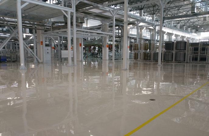 工厂车间为什么都喜欢选择环氧地坪漆?
