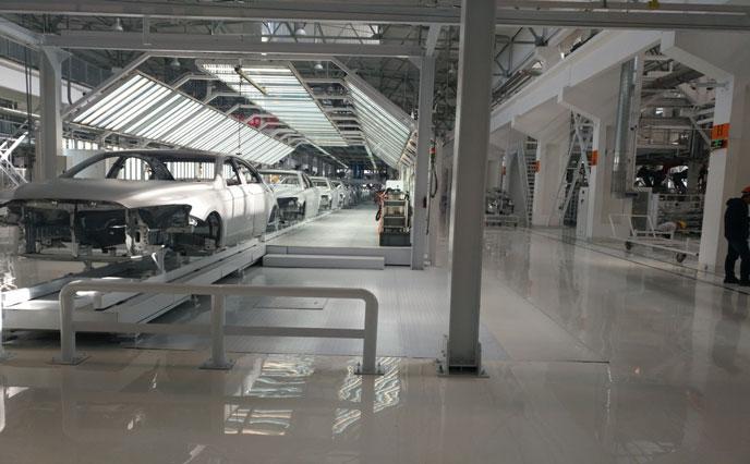 汽车制造厂选择环氧地坪漆第一要素是价格吗?-北京航特