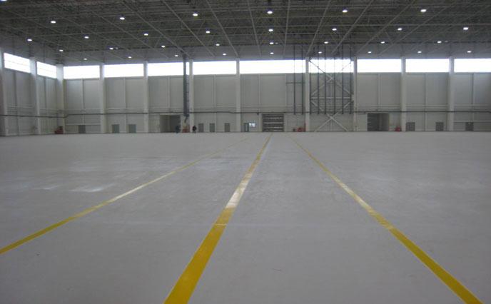北京西郊机场-聚氨酯砂浆地坪工程