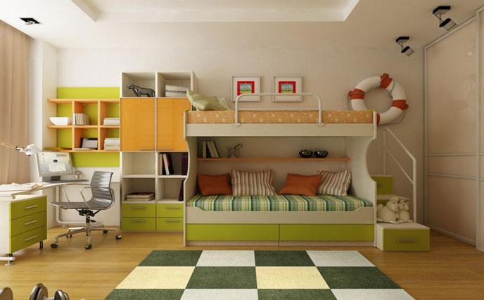 儿童房如何挑选环保水性漆和水性涂料