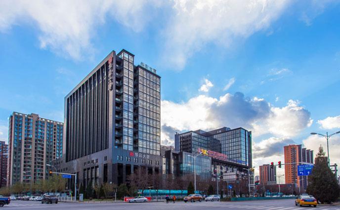北京华彩大厦地下停车场环氧地坪改造项目