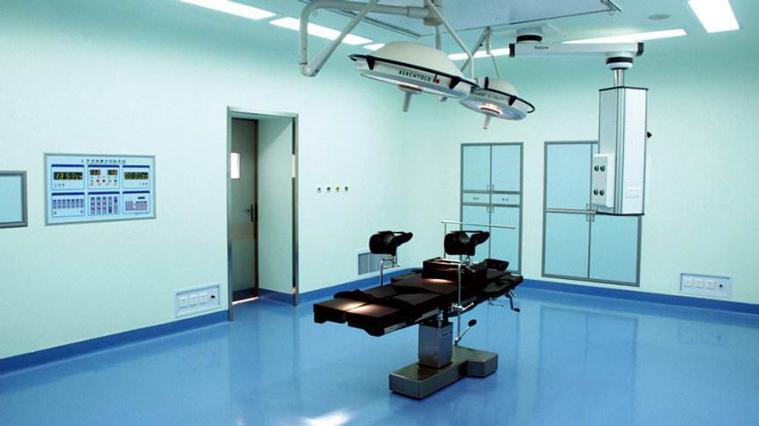 医院洁净手术室墙面漆装修施工方案-航特地坪漆