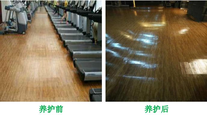 健身房运动地板可以翻新吗(只需2个晚上不影响营业)-航特地坪漆