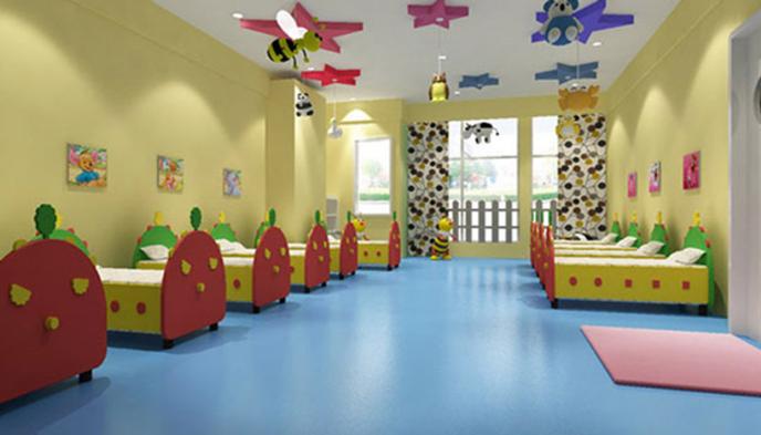 幼儿园PVC地板养护翻新解决方法-塑立得地坪漆