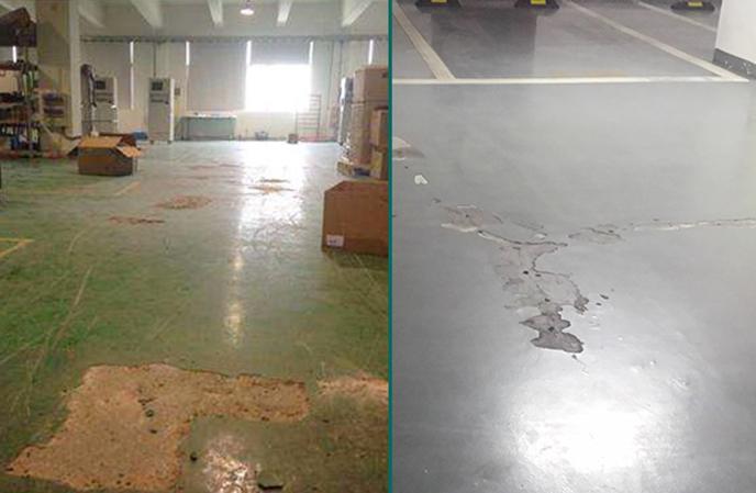 揭秘旧地坪翻新做法与材料攻略—航特地坪漆