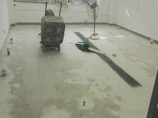 如何一招就让旧水泥基地面秒变新地面!北京航特地坪