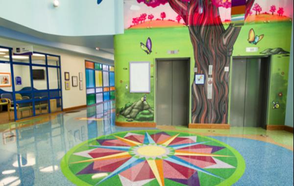 幼儿园装修,我选择塑立得墙地面一体化系统-航特墙面漆厂家