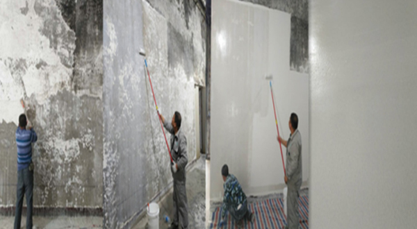 食品厂生产车间旧墙面防霉涂料翻新施工工艺