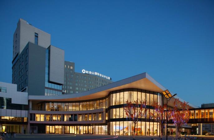 天津市社会山广场国际会议中心艺术地坪