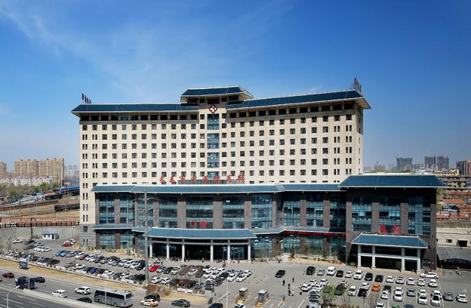 吉林省长春市中医院PVC地板养护