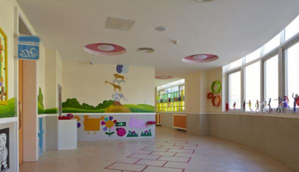河北幼儿园墙地面装修-为儿童创造健康舒适的环境-航特墙面漆厂家