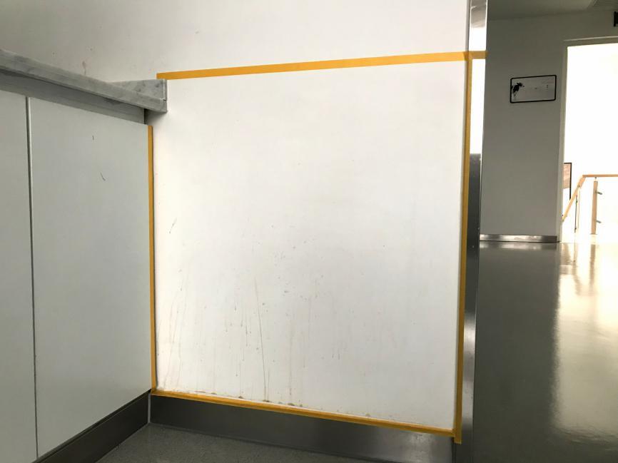 饮水间办公室墙面翻新,一招不再怕脏!