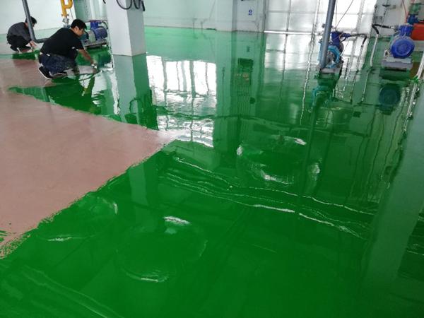 河北省唐山市柯瑞化工厂不发火地坪施工案例