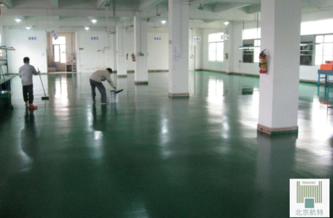推荐一个靠谱的纺织厂环氧不发火地坪漆厂家-北京航特
