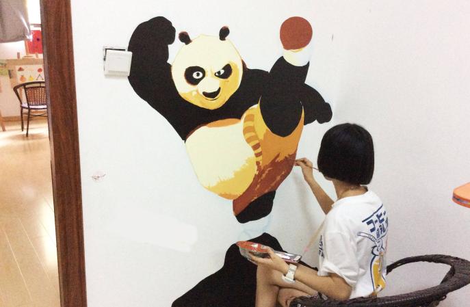 选幼儿园防涂鸦墙面漆要注意什么?-航特涂料厂家