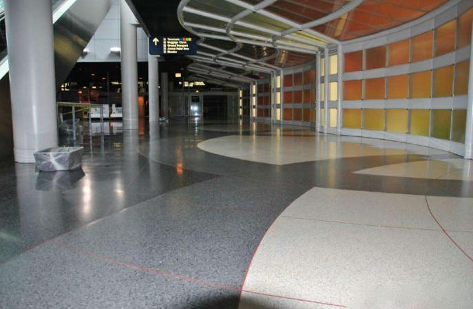 机场环氧磨石地坪,哪家的质量好寿命长?