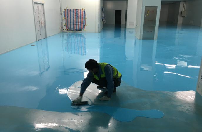 环氧防静电地坪专业施工中基材是如何要求的?