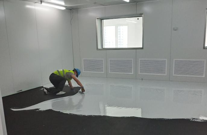防静电地坪漆施工商的专业性是怎么体现的?