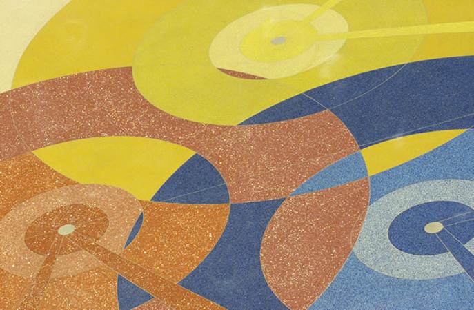 环氧磨石的图案能做哪些?是谁给设计图案?