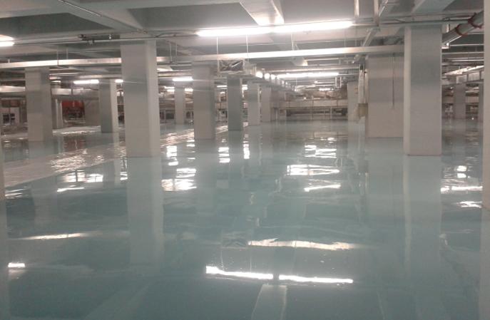 人工智能实验室地面用的环氧防静电地坪施工组价构成