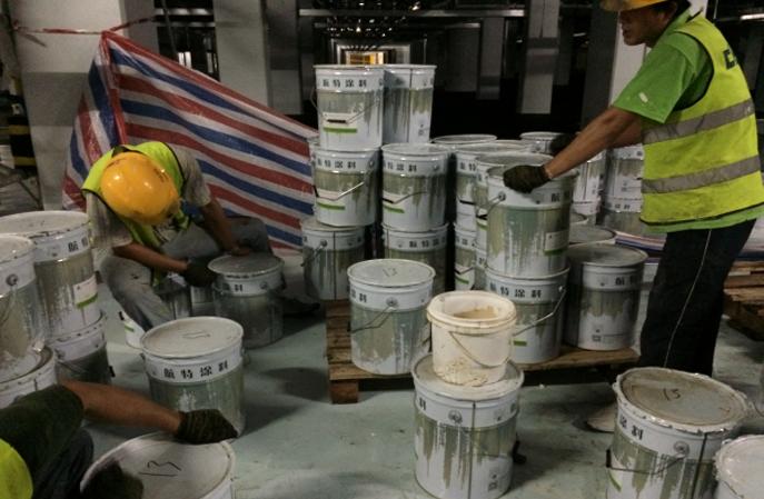 北京航特环氧防静电地坪漆是环保材料吗?