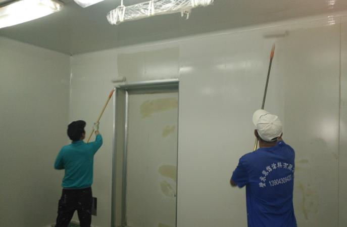 食品厂使用的防霉墙面涂料可以用水冲洗吗?