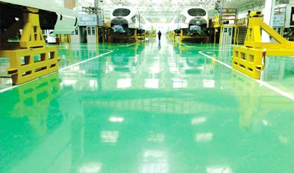 聚氨酯防静电地坪系统