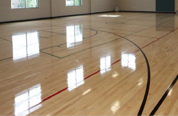 塑立得涂料是运动地板和舞蹈地板天然保护膜