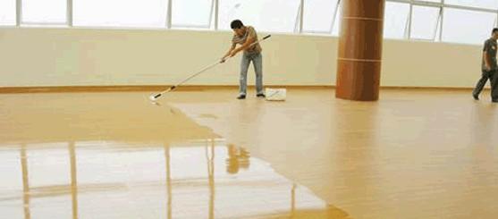 地面翻新选什么材料比较好?这款水漆如牛奶般润泽!
