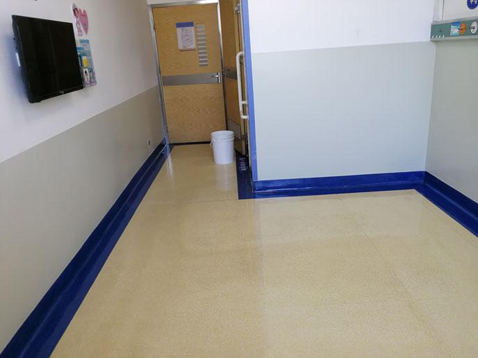 医院旧地面养护方法—让你的PVC地板经久耐磨!