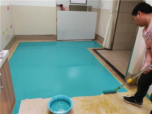 塑立得涂料—PVC地板的保养大师
