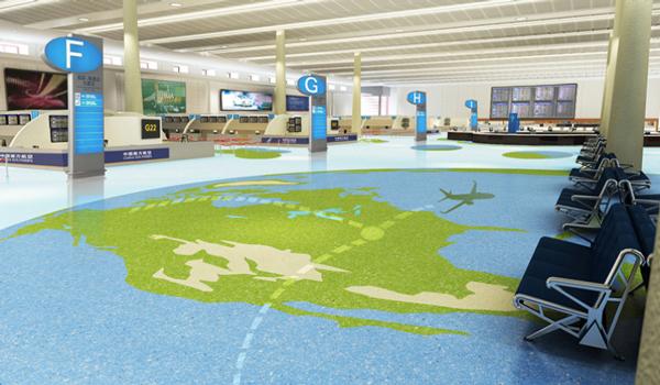 定制不一样的商业艺术地坪系统,引领行业方向