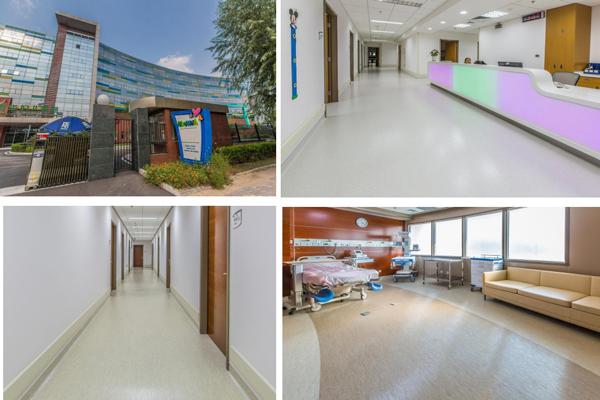 医院旧PVC地面翻新改造5年免打蜡