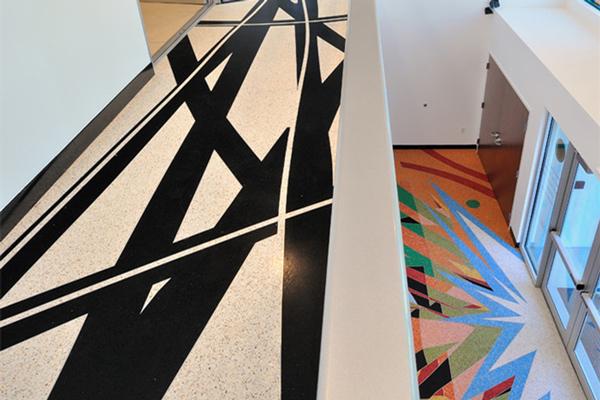 5A商业写字楼办公室地面装修用什么材料!
