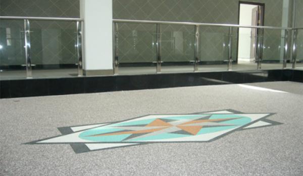 航特环氧地坪大讲堂--环氧彩砂地坪