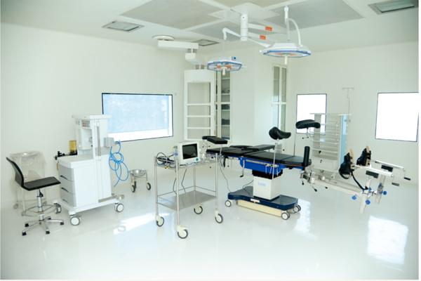 医院洁净手术室抗菌墙面漆翻新