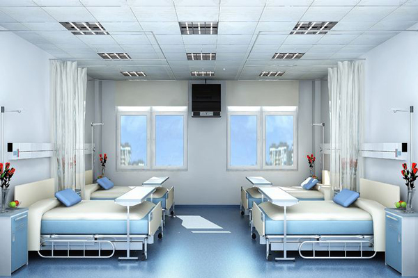 医院ICU病房翻新抗菌防霉墙面工程