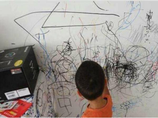 幼儿园防涂鸦专用墙面漆翻新
