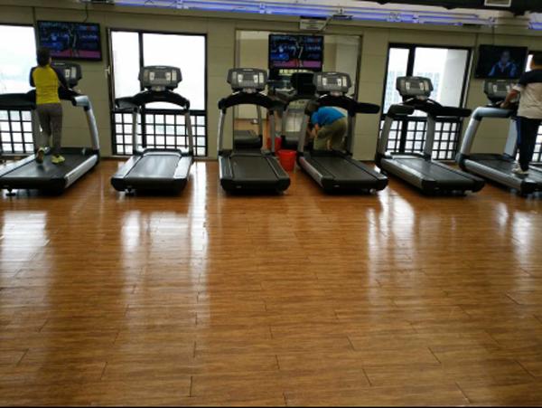健身房pvc地板或木地板地面怎么保养?
