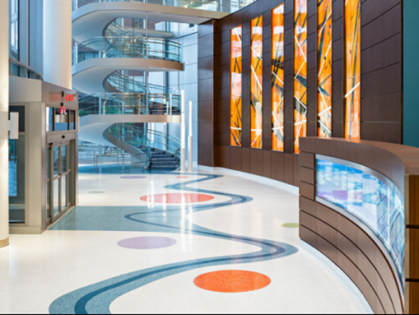 医院大厅墙地面装修你想做成什么样风格?
