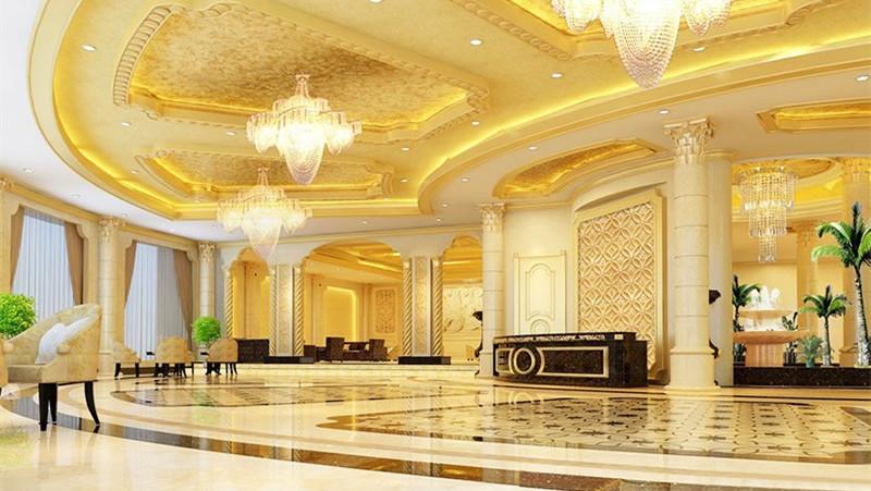 时尚环保的环氧磨石地坪(酒店装修的最爱)-艾特石地坪