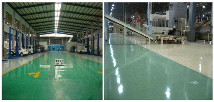如何让生产厂房里的环氧地坪更加耐磨抗划痕?